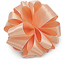 #9 PETAL PEACH DOUBLE FACE SATIN RIBBON