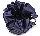 #9 NAVY DOUBLE FACE SATIN RIBBON