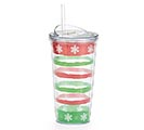 TRAVEL CUP SNOWFLAKES