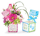 KIT BABY BLOCK PLANTER WITH PICKS