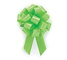 LIME GREEN PULL BOW #5