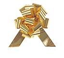 METALLIC GOLD PULL BOW #9