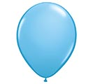 "9""QUALATEX PALE BLUE"