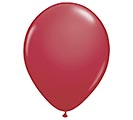 "11"" QUALATEX MAROON LATEX BALLOON"