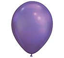 "11"" QUALATEX CHROME PURPLE LATEX"