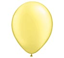 "11"" QUALATEX PEARL LEMON LATEX"