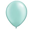 "11"" QUALATEX PEARL MINT GREEN LATEX"