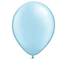 "11"" QUALATEX PEARL LIGHT BLUE LATEX"