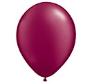 "11"" QUALATEX PEARL BURGUNDY LATEX"