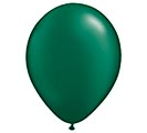 "11"" QUALATEX PEARL FOREST GREEN LATEX"