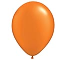 "11"" QUALATEX PEARL ORANGE LATEX"