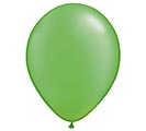 "11"" QUALATEX PEARL LIME GREEN LATEX"