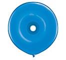 "16""GEO DONUT DK BLUE"