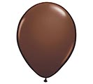 "11"" QUALATEX CHOCOLATE BROWN LATEX"