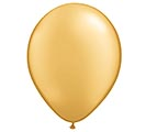 "11"" QUALATEX METALLIC GOLD LATEX"