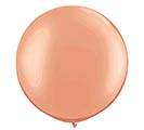 "30"" QUALATEX METALLIC ROSE GOLD LATEX"