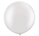 "30"" QUALATEX PEARL WHITE LATEX"