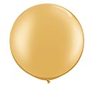 "30"" QUALATEX METALLIC GOLD LATEX"
