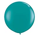 3' QUALATEX JEWEL TEAL LATEX
