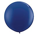 3' QUALATEX NAVY LATEX BALLOON