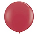 3' QUALATEX MAROON LATEX BALLOON
