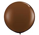 3' QUALATEX CHOCOLATE BROWN LATEX