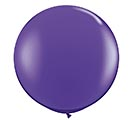 3' QUALATEX PURPLE VIOLET LATEX