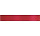 #3 MADAME RED SATIN ACETATE RIBBON