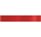 #3 RED SATIN ACETATE RIBBON