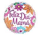 "17""SPA FELIZ DIA MAMA BRIGHT FLOWERS"