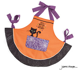 I'M A WITCH WHAT'S YOUR SUPERPOWER APRON
