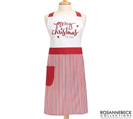 MERRY CHRISTMAS TO YOU ADULT APRON