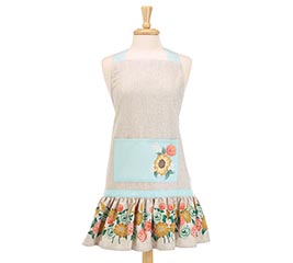 BLOOMING MEADOW FLORAL ADULT APRON
