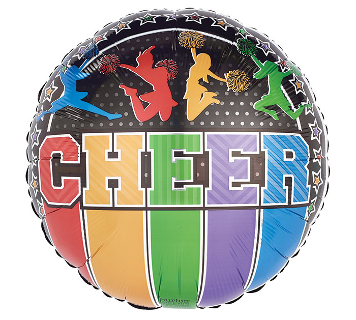 "17"" PACKAGED CHEER ON BLACK"