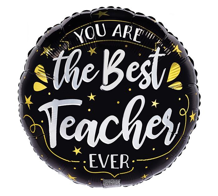 """17""""PKG BEST TEACHER EVER"""