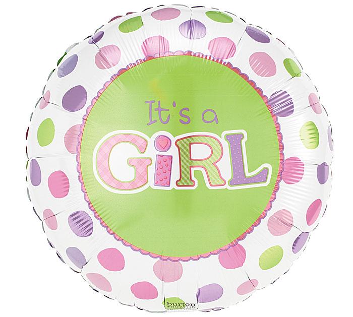 """18""""PKG IT'S A GIRL"""