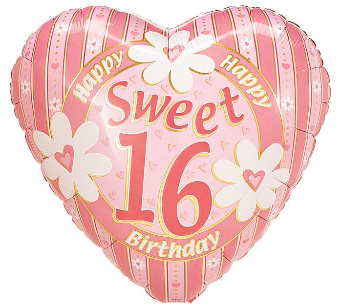 """17""""PKG SWEET 16"""