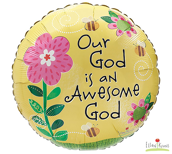"""17""""PKG OUR GOD IS AN"""