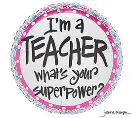"17""PKG TEACHER SUPER"