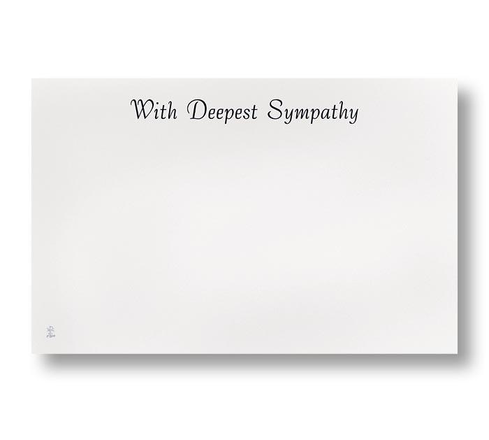ENCL CARD SYMPATHY