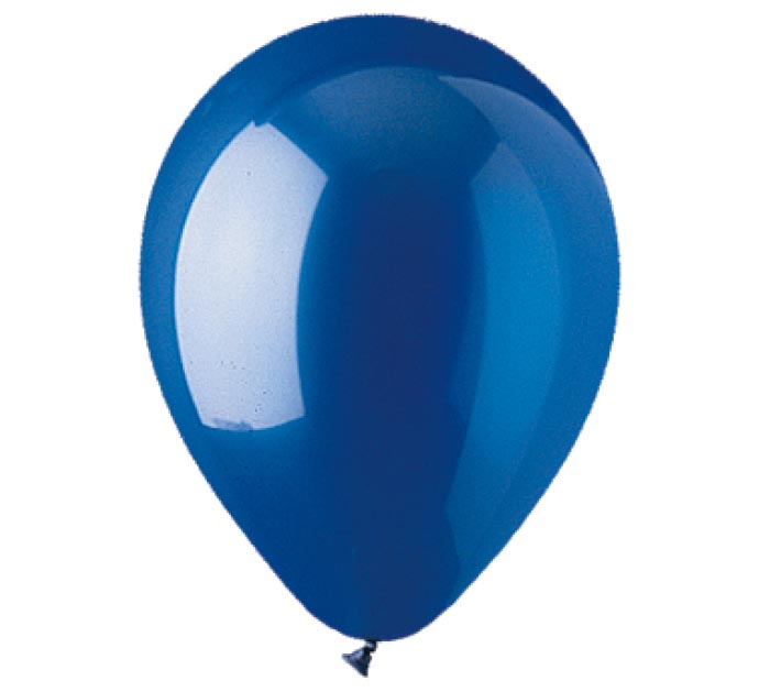 "12"" CRYSTAL SAPPHIRE BLUE LATEX"