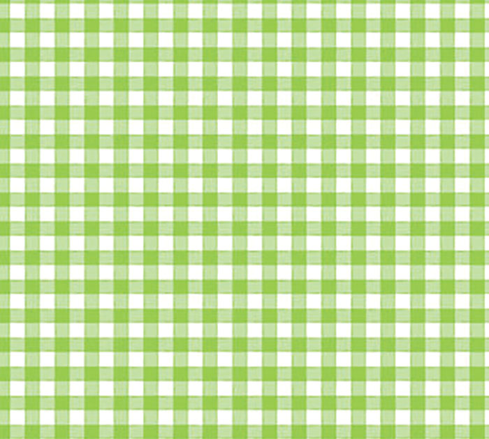 """24""""X100' CELLO GREEN COUNTRY GINGHAM"""