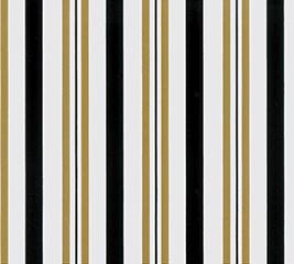 "24""X100' SWEET STRIPES BLACK GOLD"