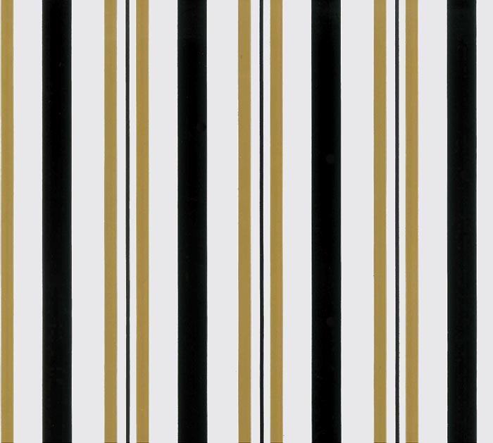 "24""X100' SWEET STRIPES BLACK GOLD"