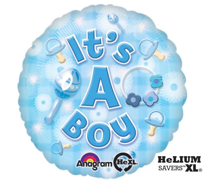 "17""BBY NEW BABY BOY"