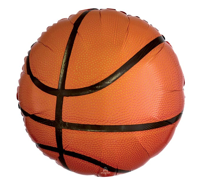 "17"" BASKETBALL SHAPE"