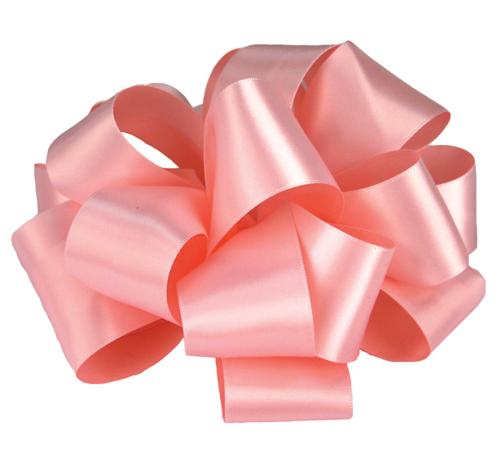 #9 LIGHT PINK DOUBLE FACE SATIN RIBBON