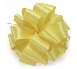 #9 LEMON SATIN RIBBO
