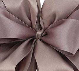 #9 PORTOBELLO DOUBLE FACE SATIN RIBBON