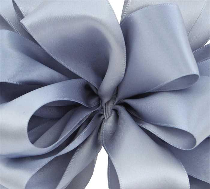 #9 DUSTY BLUE DOUBLE FACE SATIN RIBBON